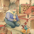Rabbit Marcus The Great 03 by Kestutis Kasparavicius