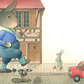 Rabbit Marcus The Great 19 by Kestutis Kasparavicius