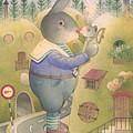 Rabbit Marcus The Great 25 by Kestutis Kasparavicius