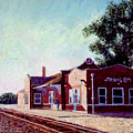 Railroad Station by Stan Hamilton