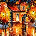 Rain Impression by Leonid Afremov