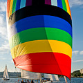 Rainbow Sail by Tom Dowd