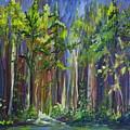 Rainy Day At Nutimik Lake by Joanne Smoley