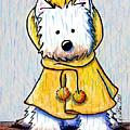 Rainy Day Westie by Kim Niles