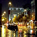 Rainy Night In Green Bay by Lauren Radke