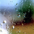 Rainy Window Abstract by Steve Ohlsen
