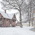 Ramlosa Brunnspark Houses In Winter