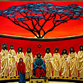 Rastafarian Last Supper by EJ Lefavour