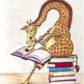 Reading Giraffe by Julia Collard