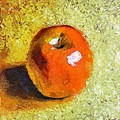 Red Apple by Dragica  Micki Fortuna