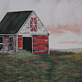 Red Barn by Candace Shockley