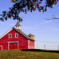 Red Barn by Mark Wiley