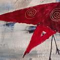 Red Bird by Patti Bean