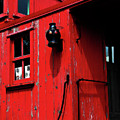 Red Caboose by Scott Hovind