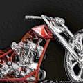 Red Embossed Custom by Wayne Bonney