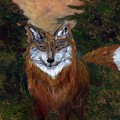 Red Fox - Www.jennifer-d-art.com by Jennifer Skalecke