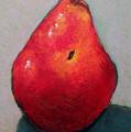Red Pear by Joyce Geleynse