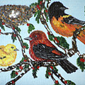 Red Robins by Ann Ingham