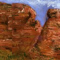 Red Rocks by Marilyn Barton