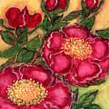 Red Roses by Anna Folkartanna Maciejewska-Dyba