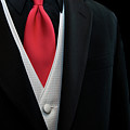 Red Tie by Maria Dryfhout