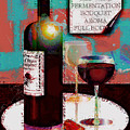 Red Wine For Two by Arline Wagner