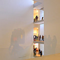 Reflections In Moma by Frank Winters