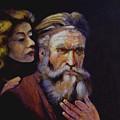 Rembrandt - Study by George Markiewicz