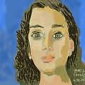 Retrato De Mi Hija M. Jose by Carlos Camus
