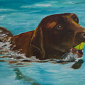 Retriever Play by Roger Wedegis