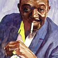 Rex Stewart Jazz Man by David Lloyd Glover