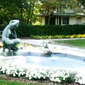Reynolda Fountain by Scarlett Royal