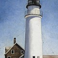 Rhode Island Lighthouse by Mary Rogers