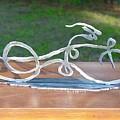 Ribbon Bike by Steve Mudge
