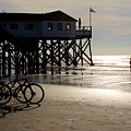 Ride Your Bike To The Beach by Heiko Koehrer-Wagner