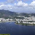 Rio De Janiero Aerial by Sandra Bronstein