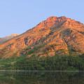 Rising Wolf Mountain At Dawn by Shari Jardina