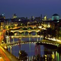 River Liffey Bridges, Dublin, Ireland by The Irish Image Collection