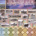 River Mural Summer Panel Bottom Half by Dawn Senior-Trask