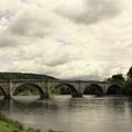 River Tay At Dunkeld by Martina Fagan