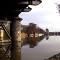 River Thames At Sandford. by Mike Lester