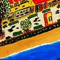 Riviera Beach Cafe by Adolfo hector Penas alvarado