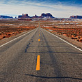 Road To Monument Valley by Matt Suess