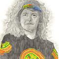 Robert Plant by Bari Titen