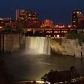 Rochester Falls At Dusk by Joseph Gillette