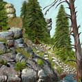 Rock Creek by Terry Lewey