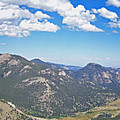 Rocky Mountain National Park Panoramic by Ernie Echols
