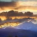 Rocky Mountain Springtime Sunset 3 by James BO  Insogna