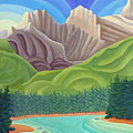 Rocky Mountain View 4 by Lynn Soehner