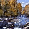 Rocky Mountain Water 8 X 10 by Kelley King